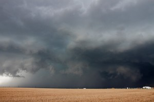 Rain Wrapped Tornado Near Byers, Colorado?